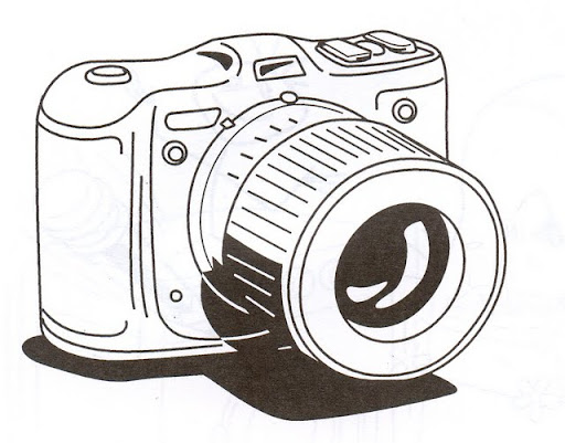 cámara dibujo